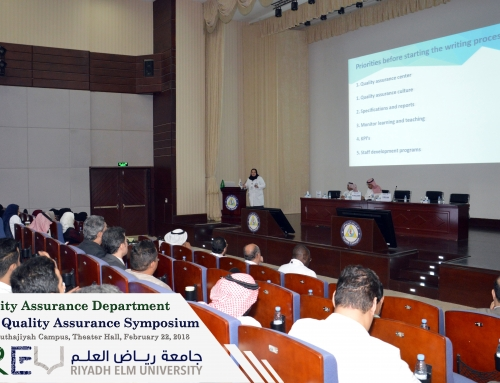 Strategic Planning For Quality Assurance Maintenance And Improvement – The Objective Of The 63rd Quality Assurance Symposium