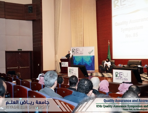 REU 85th Quality Assurance Symposium was Overwhelming with Achievements of Numerous Faculties and Intern Students